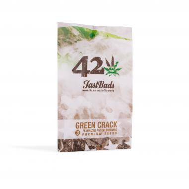 Autoflower cannabis seeds Green Crack