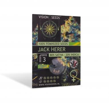 Feminized cannabis seeds Jack Herer