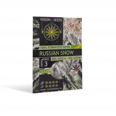 Feminized cannabis seeds Russian Snow