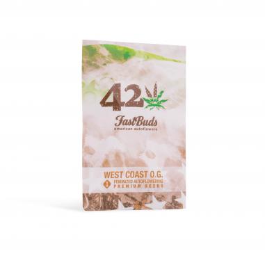 Autoflower cannabis seeds West Coast OG