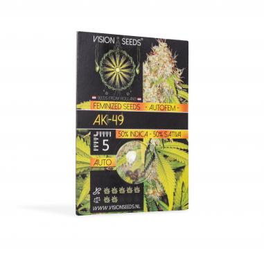 Autoflower cannabis seeds Ak-49 Auto