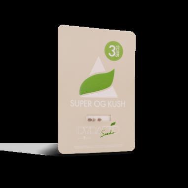 Feminized cannabis seeds Super OG Kush pyramid seeds