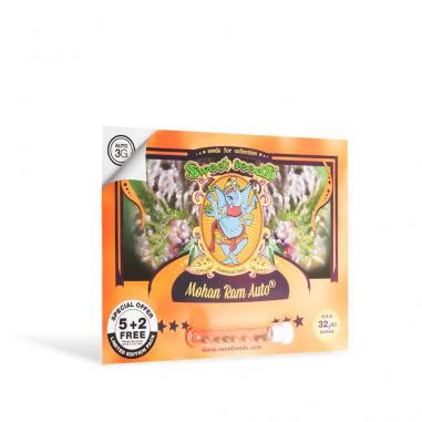 Autoflowering cannabis seeds  Mohan Ram Auto
